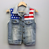 Freedom Denim Vest