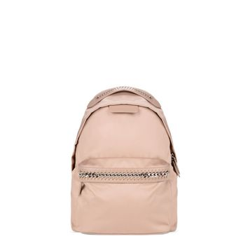 Powder Pink Falabella GO Backpack - Stella Mccartney