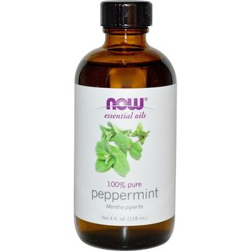 Now Foods 4-ounce Peppermint Oil | Overstock.com Shopping - The Best Deals on Essential Oils & Diffusers