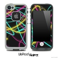 Neon Trails Skin for the iPhone 5 or 4/4s LifeProof Case