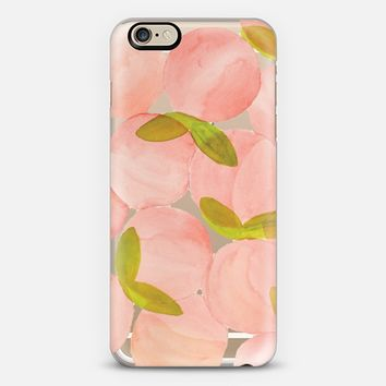 PEACHY iPhone 6 case by Lauren Davis Designs | Casetify