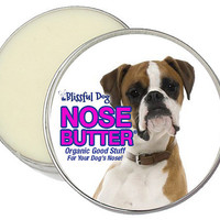 Boxer Dog Nose Butter - Organic Salve for Dry Crusty Noses 1 oz