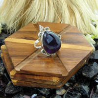 925 Silver Amethyst Ring For Women