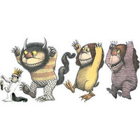 Where the Wild Things Are Wall Cling |