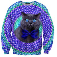 CRAZY CAT SWEATER. - APPAREL