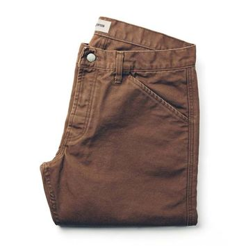 The Camp Pant in Washed Timber