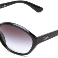 Ray-Ban Women's RB4164 Oval Sunglasses