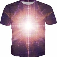 Bursting With Life | Fractal Clothes | Rave & Festival Shirt