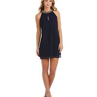 B. Darlin Beaded Neck Trapeze Dress | Dillard's Mobile