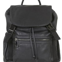 Casual Sporty Backpack - Black