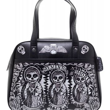 Sourpuss Memento Mori Bowler Purse