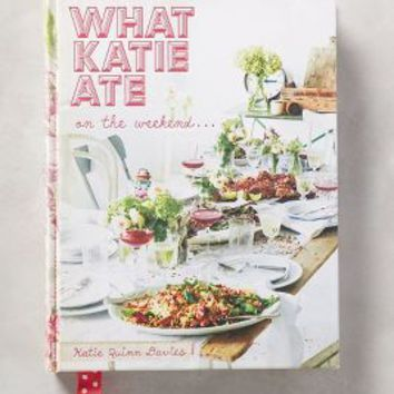What Katie Ate On The Weekend by Anthropologie in Pink Size: One Size Books