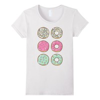 Colorful Pastel Sprinkles Donuts Shirt Gift For Foodie