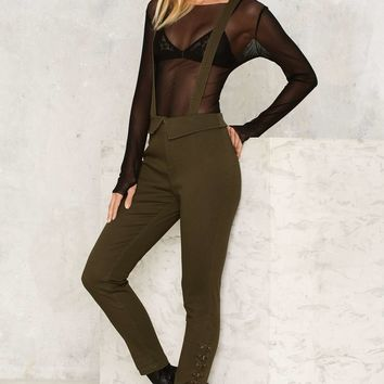 Nasty Gal Suspend Your Disbelief Skinny Trousers