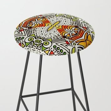 Seeing Tribe Bar Stool by duckyb
