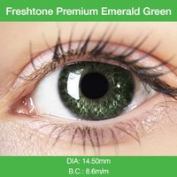 Premium Emerald Green Colored Contacts
