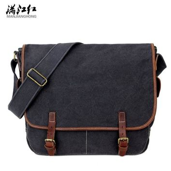 Family Friends party Board game Manjianghong Man's Messenger Bag High Quality Canvas Bag Vintage Men's Crossbody Bag 1535 AT_41_3