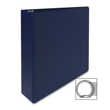 "Sparco Products 3-Ring Binder, 2"" Capacity,11""x8-1/2"", Dark Blue"