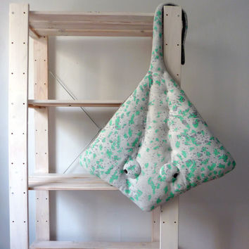 NEW* OverSized Handmade Plush- Stingray Stuffed Animal // Hand painted // Characteristic pillow or little baby blanket