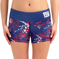 New York Giants Women's Thematic Print Shorts – Royal Blue
