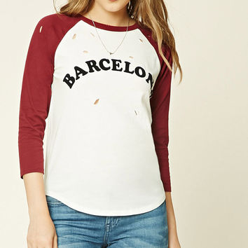 Raw-Cut Barcelona Graphic Tee