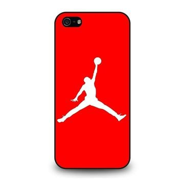 AIR JORDAN IN RED iPhone 5 / 5S / SE Case