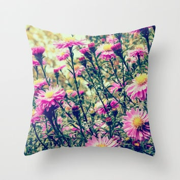 Colorful in Fall Throw Pillow by Iveta S.