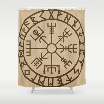 Old Norse Viking Symbols Of Protection By From Society6