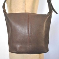 Coach Brown Leather Bag Purse