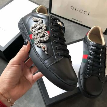 Gucci Men Women Fashion Casual Sports Shoes