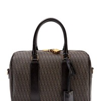 ONETOW Saint Laurent Classic YSL Monogram Toile Satchel Shoulder Bag 342100