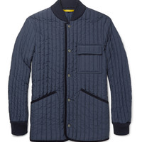 Canali - Quilted Field Jacket | MR PORTER