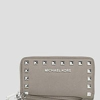 MICHAEL Michael Kors iPhone 5 Wristlet - Studded Zip Around