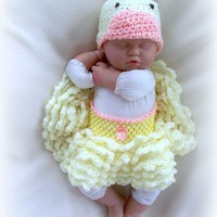 Baby Chic Crochet Tutu And Hat Set .. on Luulla