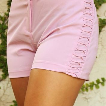 That Was Us Shorts: Lilac