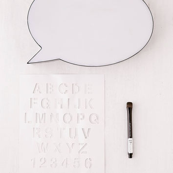 Speech Bubble Message Board Light | Urban Outfitters