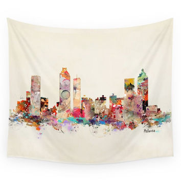 Society6 Atlanta Georgia Wall Tapestry