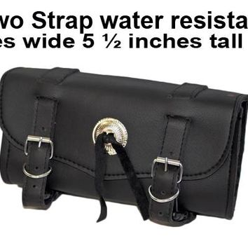 Motorcycle Tool Bag Front Fork Bag Two Strap water resistant