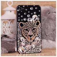 iPhone 4 Case, iPhone 4s Case,iPhone 5 Case, iPhone 5 Bling Case, Bling iPhone 4 case, Unique iPhone 4 case, cheetah iphone 4 case, iphone 5