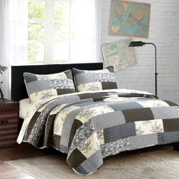 Concord Twin Quilt Set