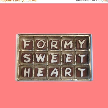 Girlfriend Boyfriend Anniversary Gift Men Women For My Sweet Heart Cubic Chocolate Letter Love You Valentine Day Long Distance Relationship