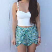 Jungle Daisy Shorts from ootdfash