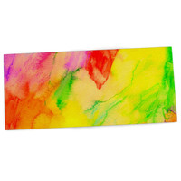 "Sreetama Ray ""Chemical Lovestory"" Watercolor Desk Mat"