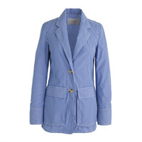 J.Crew Womens Deconstructed Shirt Blazer