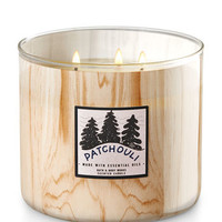 PATCHOULI WOODS3-Wick Candle