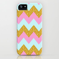 Beachy iPhone & iPod Case by Pink Berry Pattern