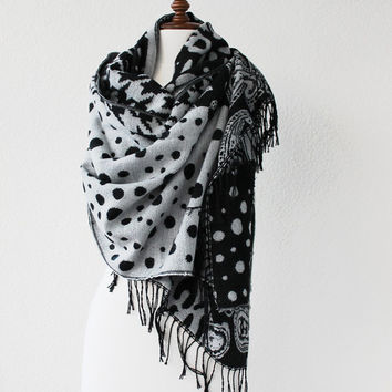 Pashmina Scarf, Large Scarf, Oversize Scarf, Women Fashion Accessories Gift Ideas For Her