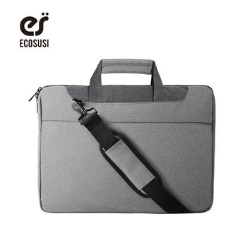 ecosusi 2017 Waterproof Crushproof 15.6 inch Notebook Computer Laptop Bag Lightweight Women Briefcase Shoulder Messenger Bags