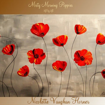 ORIGINAL Large    gallery wrap canvasContemporary by artmod