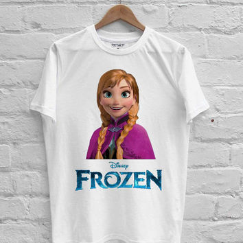 anna frozen disney T-shirt Men, Women, Youth and Toddler